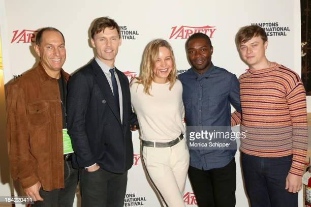 Hamptons International Film Festival Board of Directors Chairman Stuart Match Suna and actors Scott Haze Brie Larson David Oyelowo and Dane DeHaan...