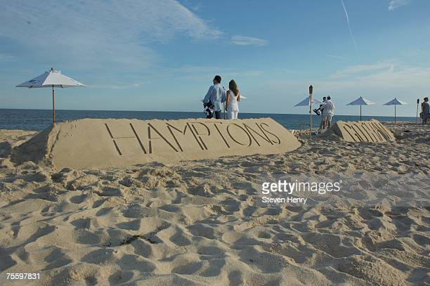 Hamptons Magazine Gotham Magazine's Annual Clambake on July 22 2007 in Southampton New York