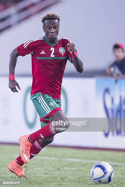 Hamza Mendyl of Morocco during the Africa Cup of Nations match between Morocco and Sao Tome E Principe at September 4 2016 at the Complexe Sportif...