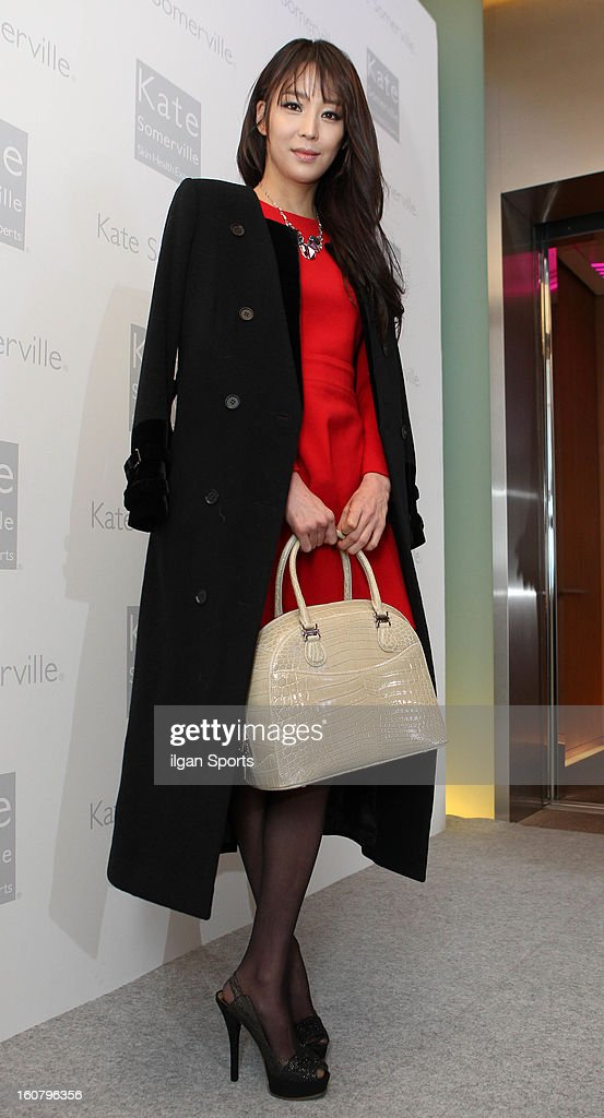 Han Go-Eun attends the 'Kate Somerville' Launch Event at Park Hyatt Seoul on February 5, 2013 in Seoul, South Korea.