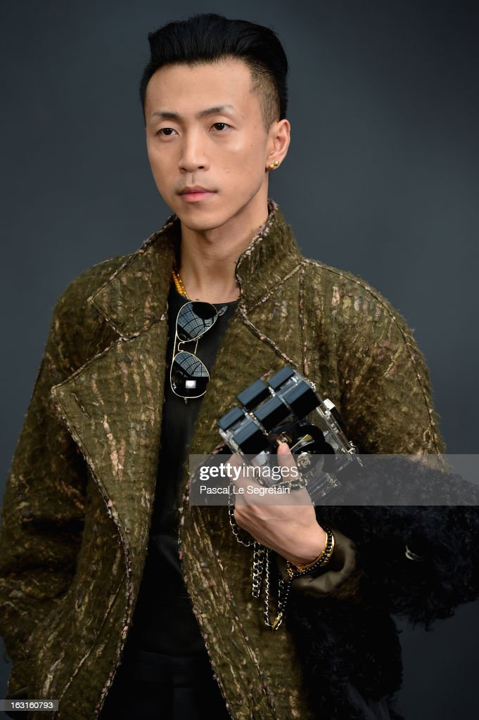 Han Huo Huo attends the Chanel Fall/Winter 2013 Ready-to-Wear show as part of Paris Fashion Week at Grand Palais on March 5, 2013 in Paris, France.