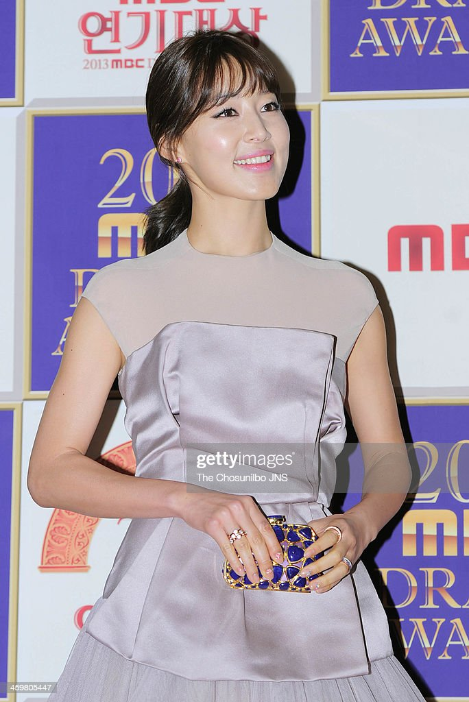<a gi-track='captionPersonalityLinkClicked' href=/galleries/search?phrase=Han+Ji-Hye&family=editorial&specificpeople=4517766 ng-click='$event.stopPropagation()'>Han Ji-Hye</a> arrives at the red carpet of the 2013 MBC drama awards at MBC Open hall on December 30, 2013 in Seoul, South Korea.