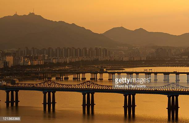 Han river in Seoul.
