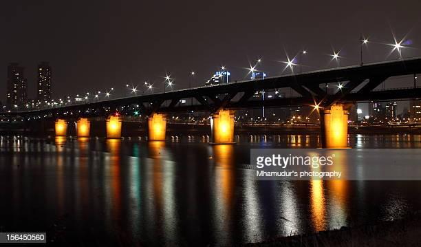 Han river night view