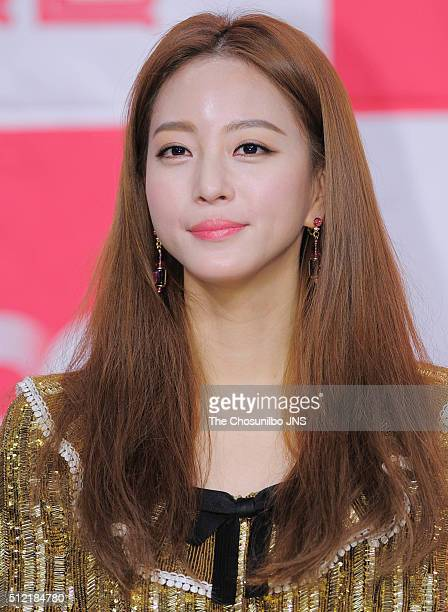 Han Yeseul attends the JTBC 'Madame Antoine' press conference at Amoris on January 21 2016 in Seoul South Korea