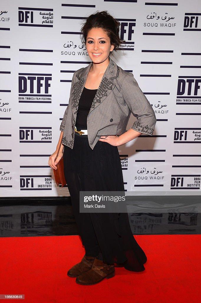 Hana Abdalla attends the Awards Ceremony at the Al Rayyan Theatre during the 2012 Doha Tribeca Film Festival on November 22, 2012 in Doha, Qatar.