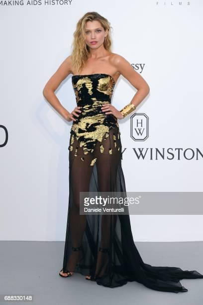 Hana Jirickova arrives at the amfAR Gala Cannes 2017 at Hotel du CapEdenRoc on May 25 2017 in Cap d'Antibes France
