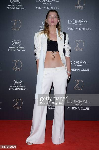 Hana Jirickova attends the Gala 20th Birthday Of L'Oreal In Cannes during the 70th annual Cannes Film Festival at Martinez Hotel on May 24 2017 in...