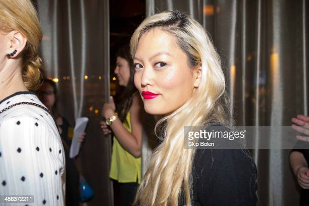 Hana Mae Lee attends the 'Walk of Shame' New Orleans screening After Party on April 23 2014 in New Orleans Louisiana