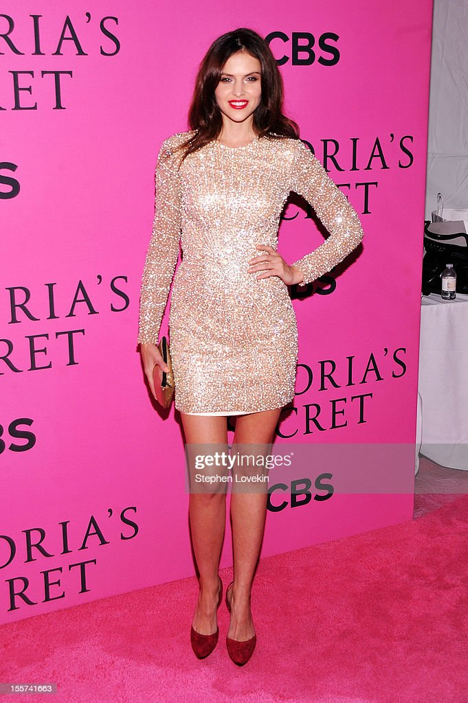 Hana Nitsche attends the 2012 Victoria's Secret Fashion Show at the Lexington Avenue Armory on November 7, 2012 in New York City.