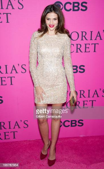 Hana Nitsche attends the 2012 Victoria's Secret Fashion Show at the Lexington Avenue Armory on November 7 2012 in New York City