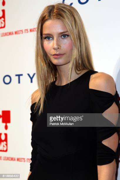 Hana Soukupova attends DKMS' 4th Annual Gala' LINKED AGAINST LEUKEMIA at Cipriani's 42nd St on April 29 2010 in New York City