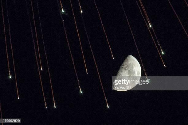 Hanabi on the moon