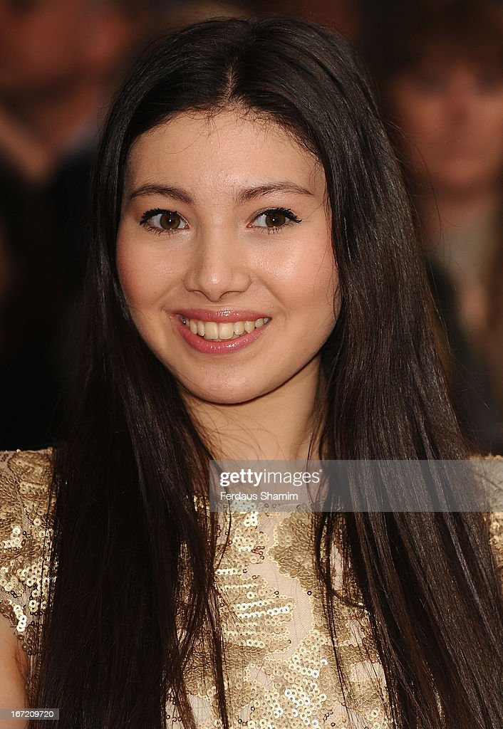 Hanae Atkins attends the UK Premiere of 'All Stars' at Vue West End on April 22, 2013 in London, England.