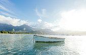 hanalei bay boat
