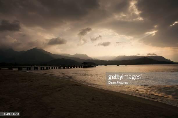 Hanalei Bay Sunset