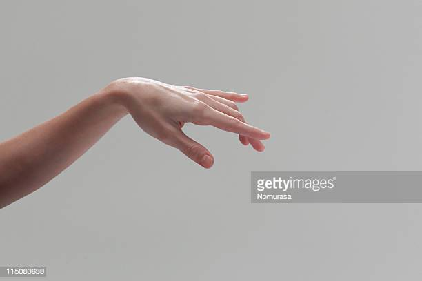 Hand and finger