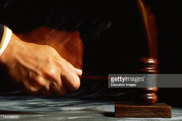 Hand And Gavel