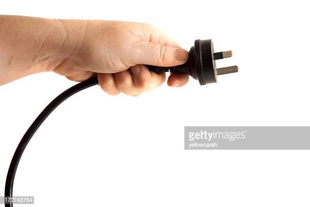 Hand and Power Cord