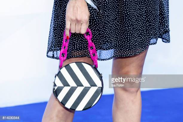 Hand bag of German actress Wolke Hegenbarth as a detail during the summer party 2017 of the German Producers Alliance on July 12 2017 in Berlin...
