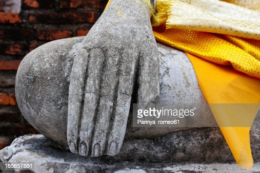 hand Buddha. : Stock Photo