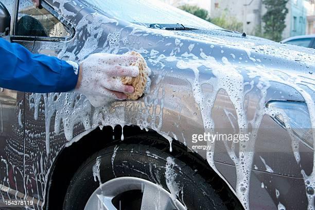 Hand Car Wash Schwamm