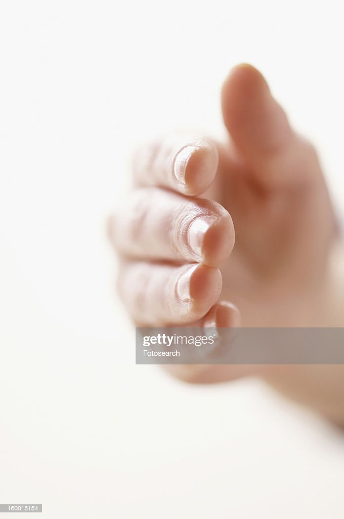 Hand extended : Stock Photo