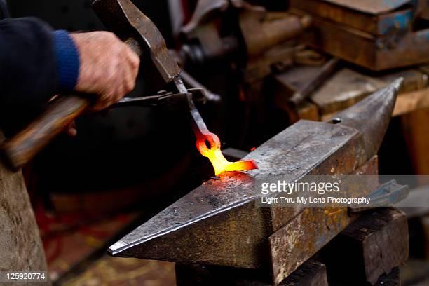 Hand forging