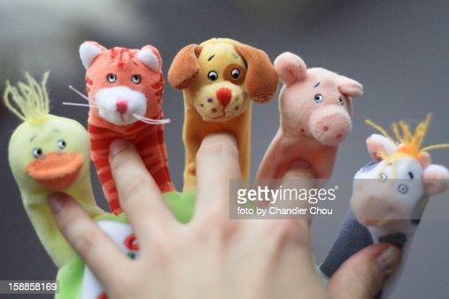 Hand glove : Stockfoto