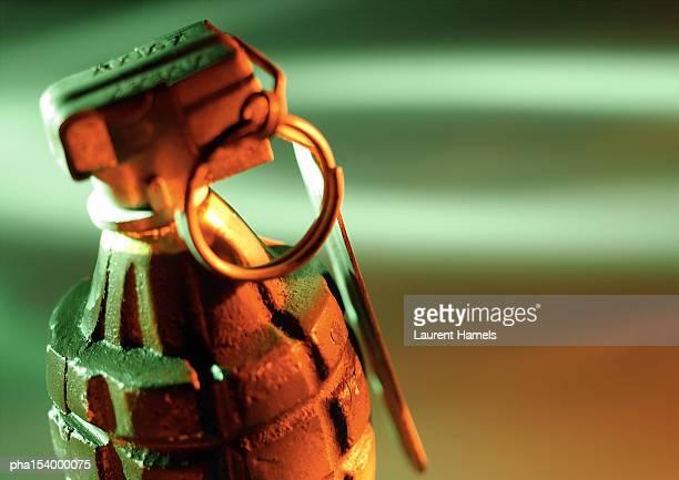 Hand grenade, close-up.