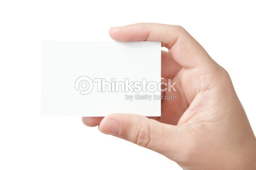 Hand holding blank business card stock photo thinkstock hand holding blank business card stock photo colourmoves
