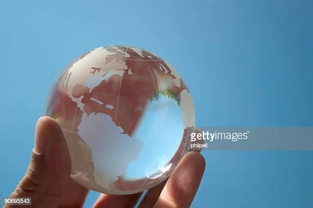 Terre Globe, le monde,