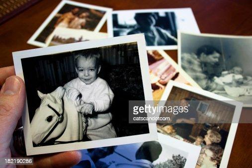 手にはヴィンテージ写真を、field hockey stick 子供のおもちゃ