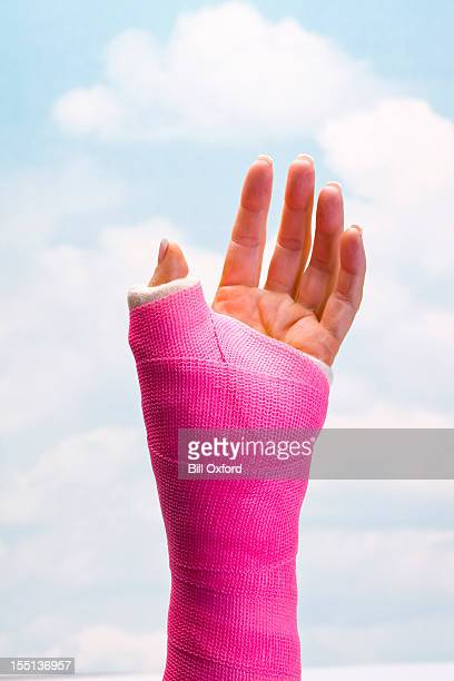 Hand in werfen