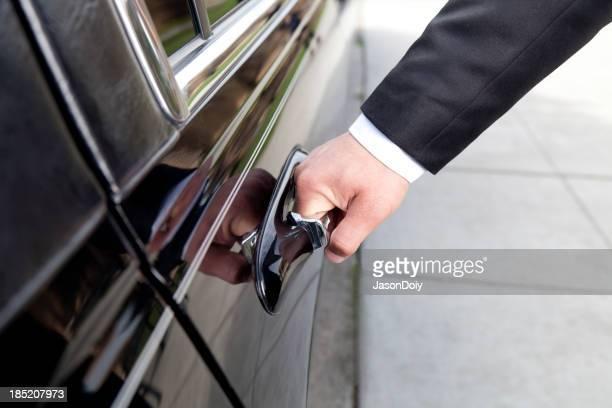 Limusina de apertura de puerta manual