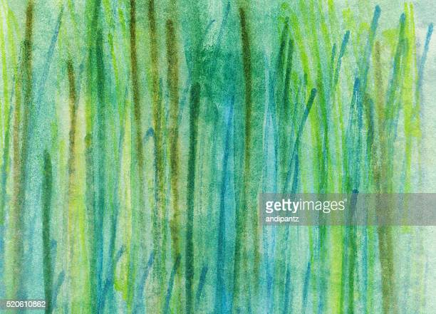 Hand painted abstract background with textured lines