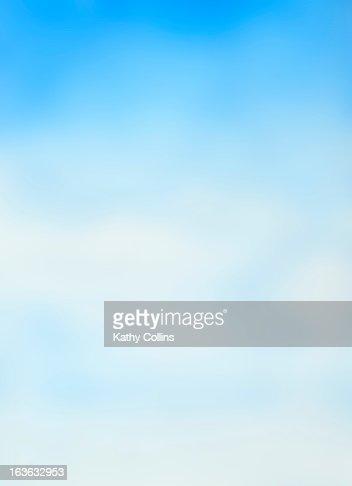 Hand painted soft dreamy blue sky : Foto de stock