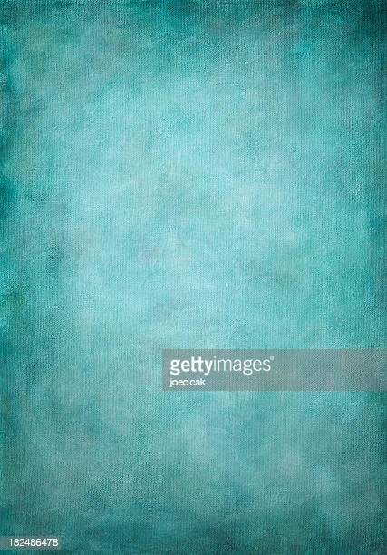 Hand Painted Turquoise Background