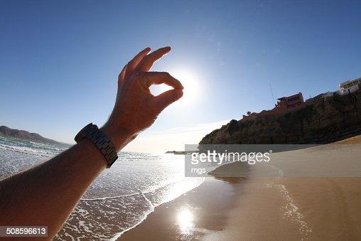 Hand : Foto stock