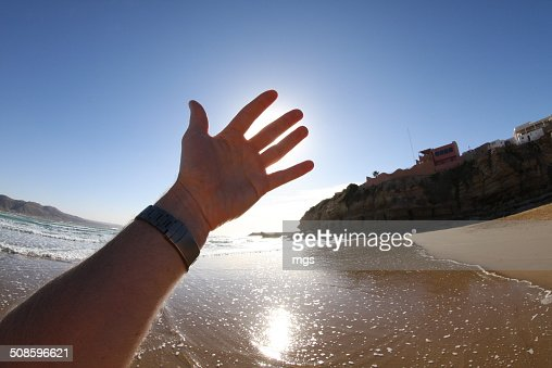 Hand : Foto de stock