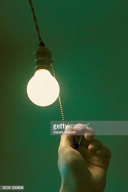 Hand Pulling Light Cord