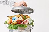 Vast quantities of fresh food thrown away each day