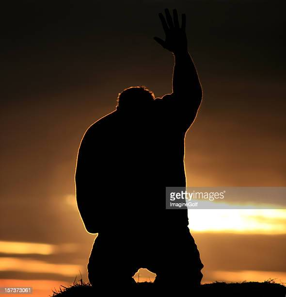 Hand to Heaven in Praise and Worship