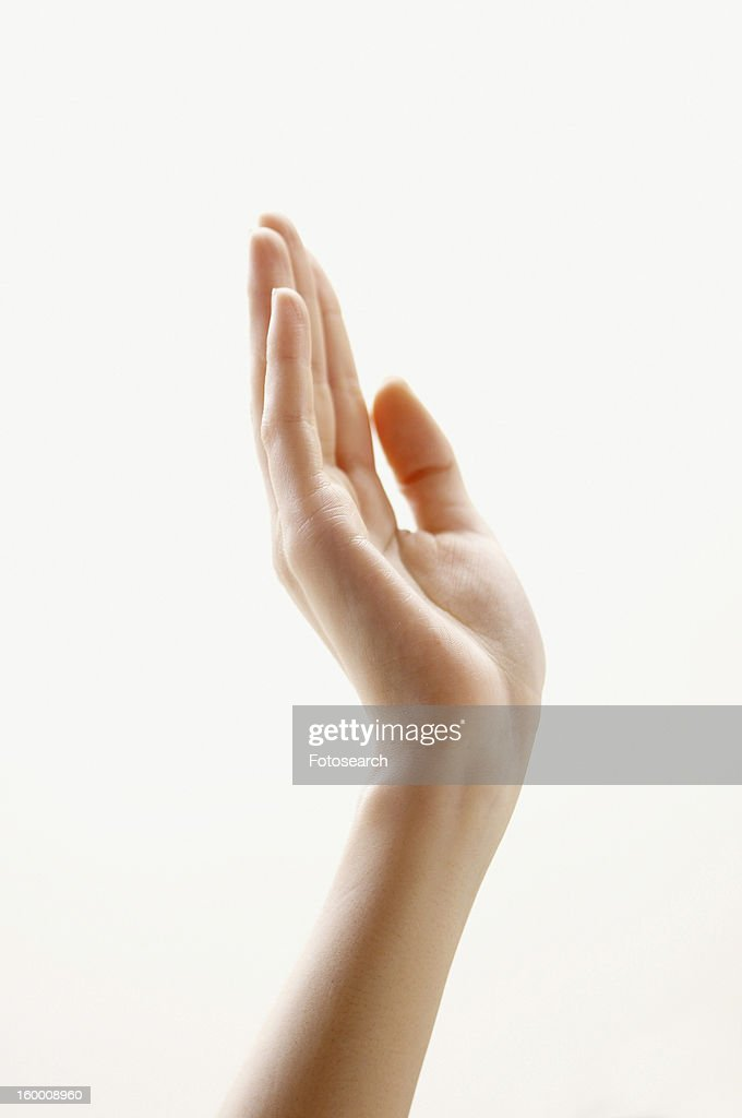 Hand waving : Stock Photo