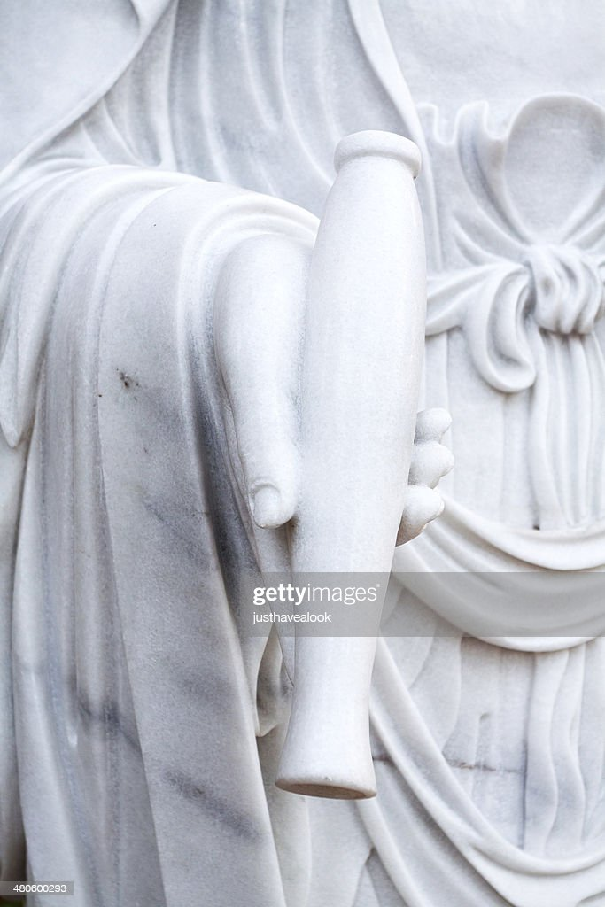 Hand with amphora : Stock Photo