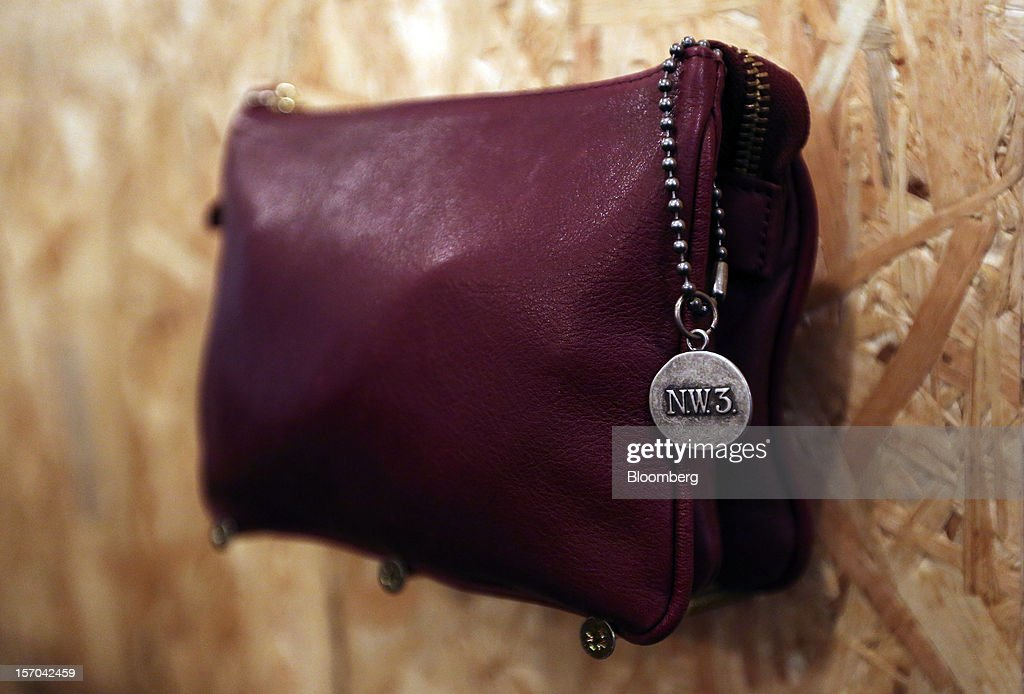A handbag is seen on display inside a NW3 store, a brand of Hobbs and former pop-up store, in London, U.K., on Tuesday, Nov. 27, 2012. Fashion chain Hobbs is among those that have opened pop-up stores for the first time this year, while CD and DVD retailer HMV Group Plc is adding more than usual for the holiday in an effort to win business. Photographer: Chris Ratcliffe/Bloomberg via Getty Images