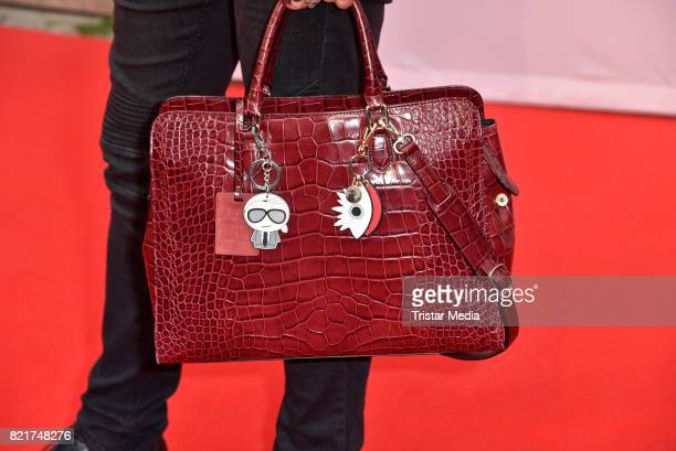 Handbag of Julian F M Stoeckel as a detail during the premiere of 'The Party' on July 24 2017 in Berlin Germany