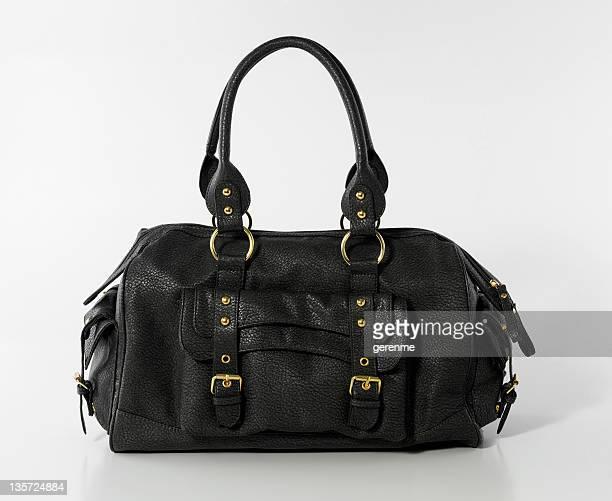 handbag on white