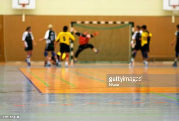 handball defence