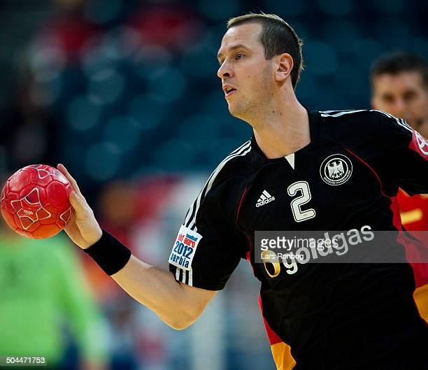 Handball Denmark vs Germany in Belgrade Pascal Hens Tyskland / Germany ©Lars Rønbøg / Frontzonesport